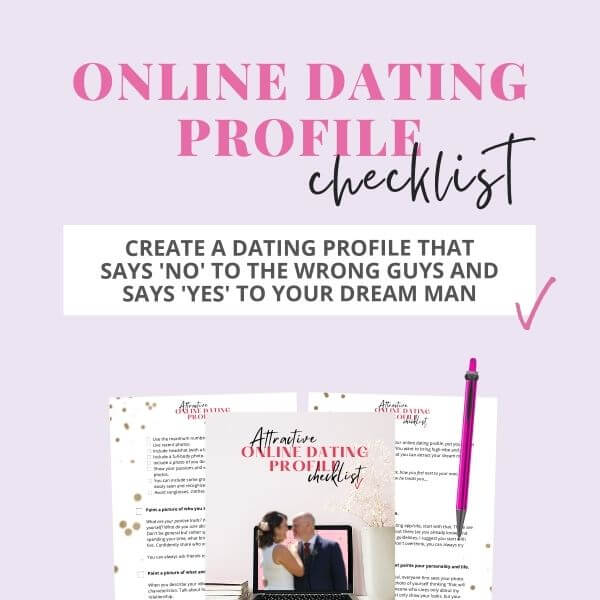 online dating profile checklist